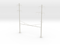 PRR Catenary 4 tracks